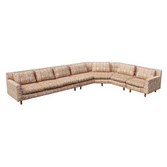 Huge Sectional Sofa by Edward Wormley for Dunbar (Upholstery needed)