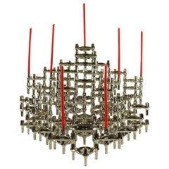 Huge Set Modular Candleholder Sticks 91 Pcs by BMF Nagel Design Caesar Stoffi