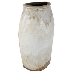 Huge Unique Grey Ceramic Floor Vase by Wilhelm & Elly Kuch, Germany, 1960s