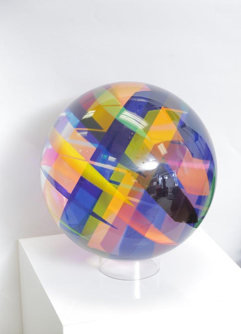 Acrylic Huge Vasa Mihich Sphere For Sale