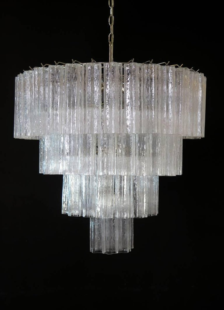 Huge vintage murano glass tiered chandelier 78 glasses for sale at mid century modern huge vintage murano glass tiered chandelier 78 glasses for sale aloadofball