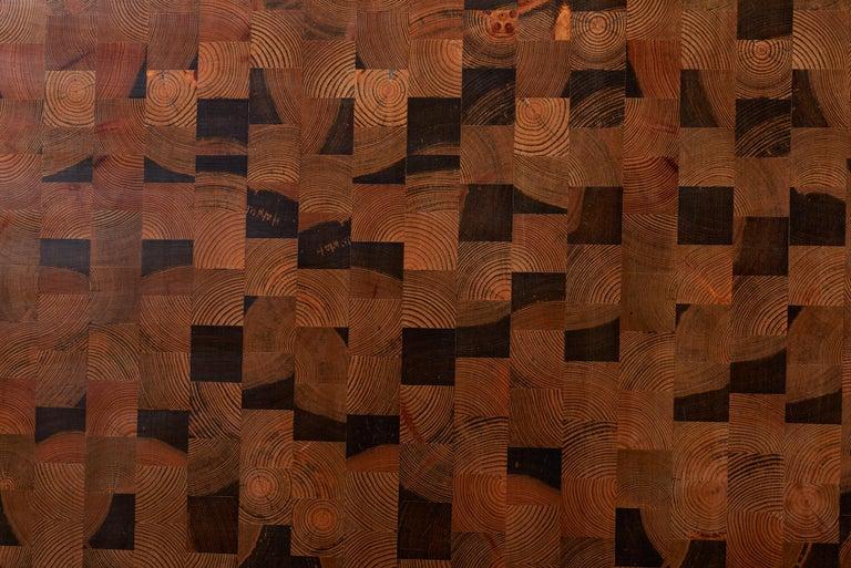 Huge Wooden Scandinavian Coffee Table by Gorm Lindum for Tranekær, Denmark In Good Condition In Berlin, DE