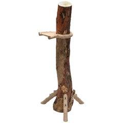'Hugging and Poking Shelf' Contemporary Wooden Branch Shelf Schimmel & Schweikle