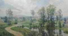 River Landscape, Collaborative Mural Hugh Bolton Jones and Francis Coates Jones