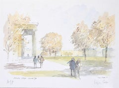 Downing College Cambridge Hugh Casson limited edition print