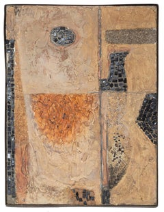 Mosaic Panel, Abstract Mixed Media piece by Hugh Wiley