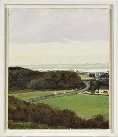 La N.56 à Gortahork by Hughes Claude Pissarro - Contemporary landscape painting