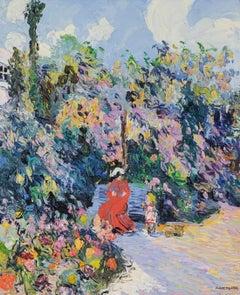 La Petite Rachel et sa Mère au Jardin by Corinne and Claude Pissarro