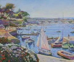 Les Baigneurs de Juillet (St Aygulf dans le Var) by H. Claude Pissarro - River