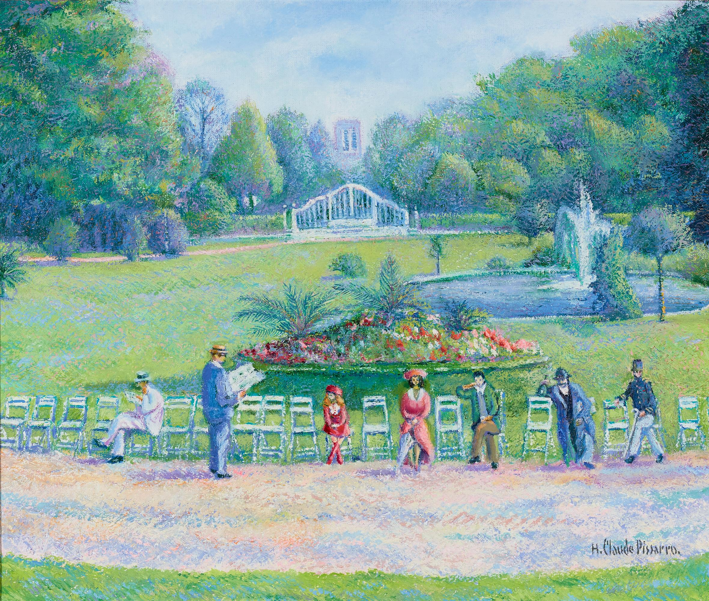 Sieste au jardin public (Rest in the Public Garden)