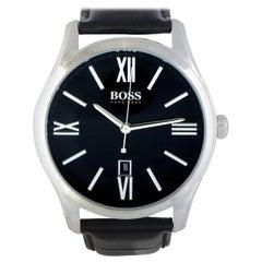 Hugo Boss Ambassador 1513022, Millimeters Black Dial, Certified and Warranty