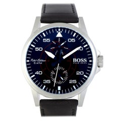 Hugo Boss Aviator 1513515, Millimeters White Dial, Certified and Warranty