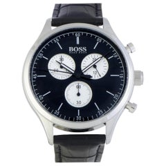 Hugo Boss Companion 1513543, Millimeters White Dial, Certified and Warranty
