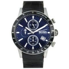 Hugo Boss Rafale 1513391, Millimeters Silver Dial, Certified and Warranty