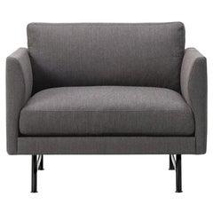 Hugo Passos Calmo Lounge Chair 80, Metal Base