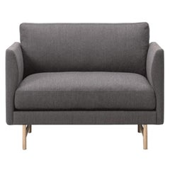 Hugo Passos Calmo Lounge Chair 95 – Wood Base