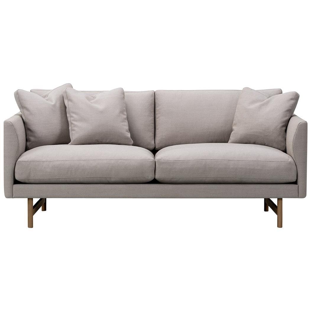 Hugo Passos Calmo Sofa 80 – 2-Seater – Wood Base