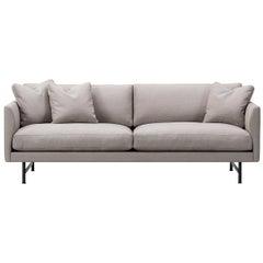 Hugo Passos Calmo Sofa 80, 3-Seater, Chaise, Metal Base