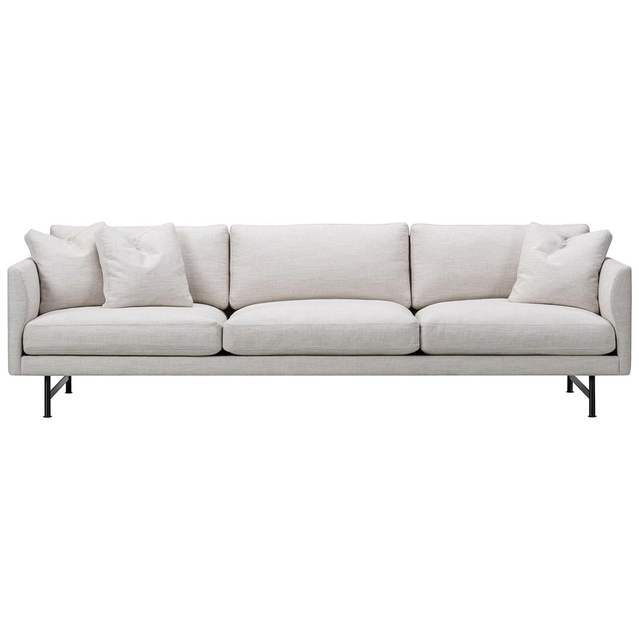 Hugo Passos Calmo Sofa 80, 3-Seater, Metal Base