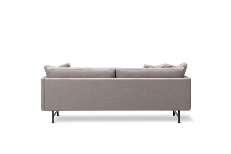 American Hugo Passos Calmo Sofa 95 – 2-seater – Metal Base For Sale