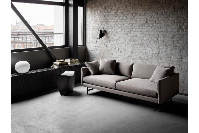 Hugo Passos Calmo Sofa 95 – 2-seater – Metal Base In New Condition For Sale In Berkeley, CA