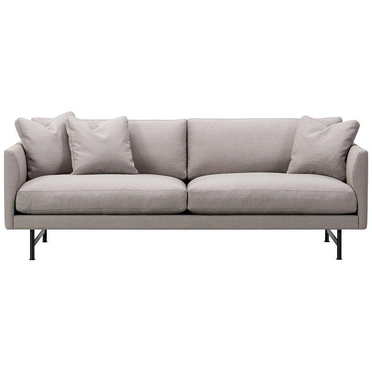 Hugo Passos Calmo Sofa 95 – 2-seater – Metal Base For Sale