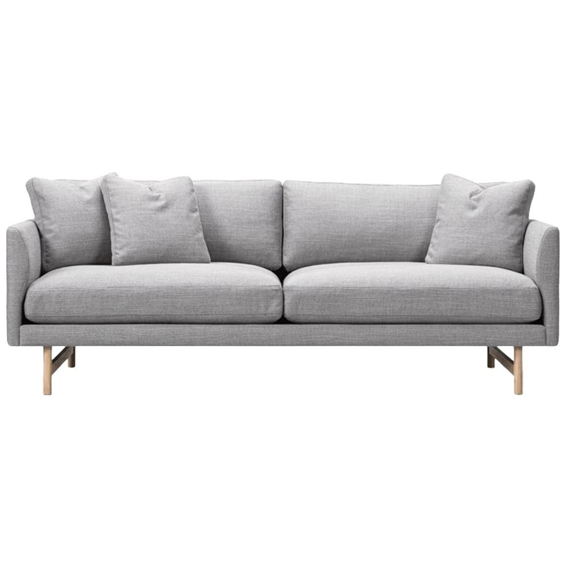 Hugo Passos Calmo Sofa 95, 2-Seater, Wood Base