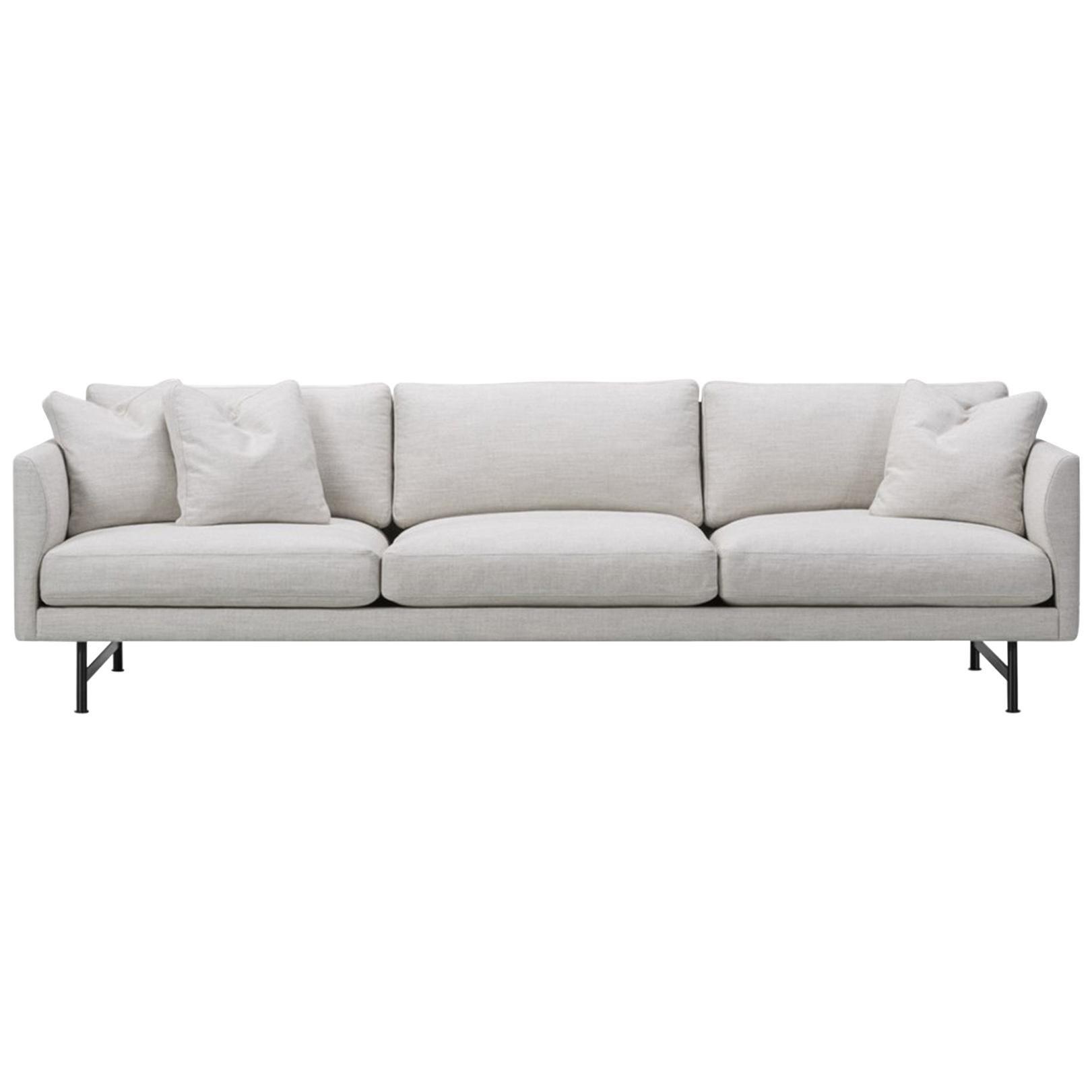 Hugo Passos Calmo Sofa 95 – 3-Seater – Metal Base