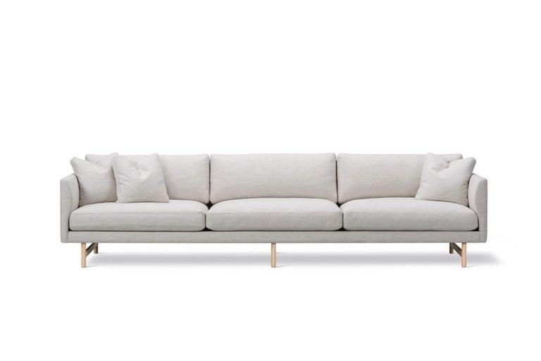 American Hugo Passos Calmo Sofa 95, 3-Seater, Wood Base For Sale