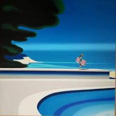 Belgian Contemporary Art by Hugo Pondz - En Route pour la Joie