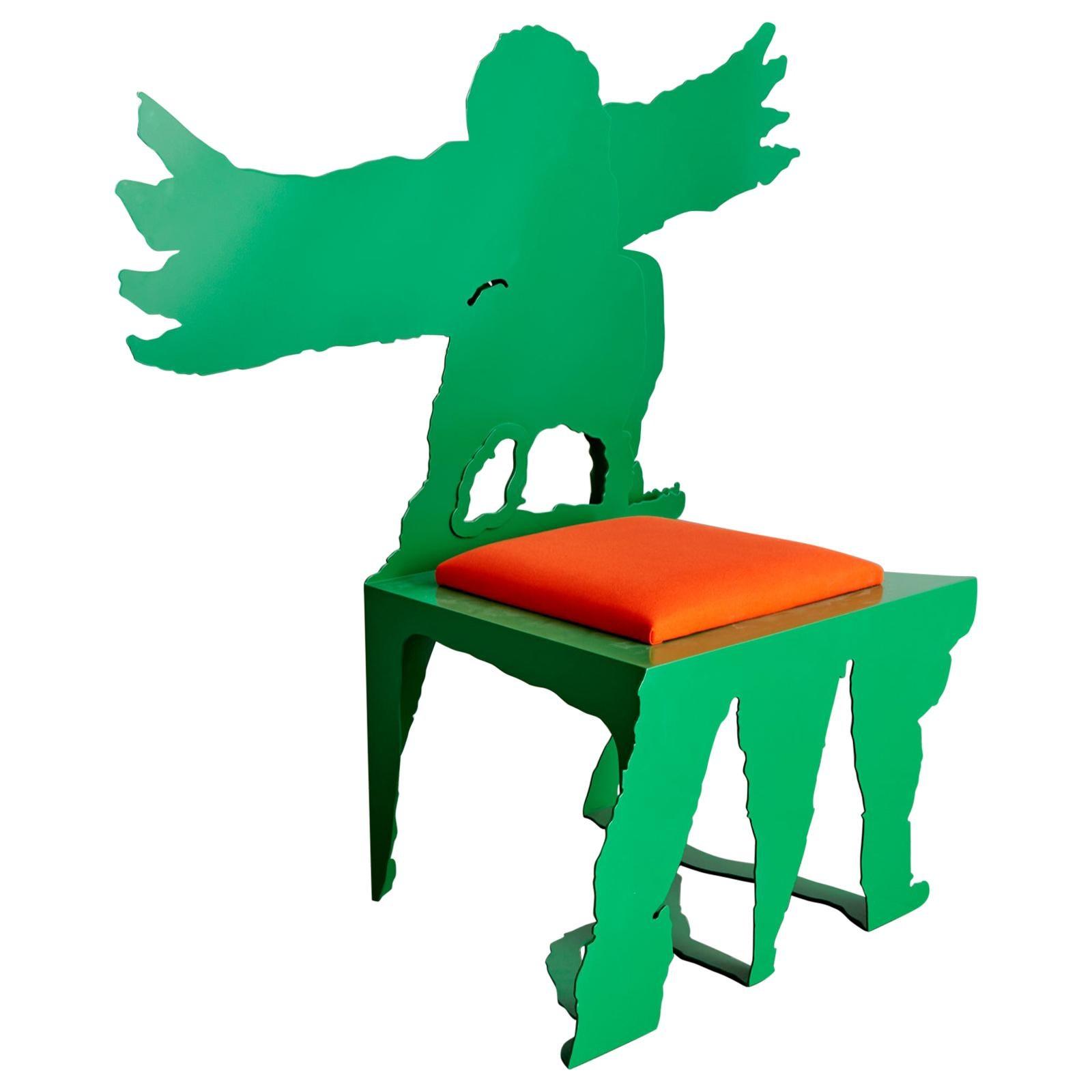 """Hugs #2"" Sculptural Chair by Serban Ionescu, 2018"