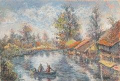 La Barque du Passeur à Pagny