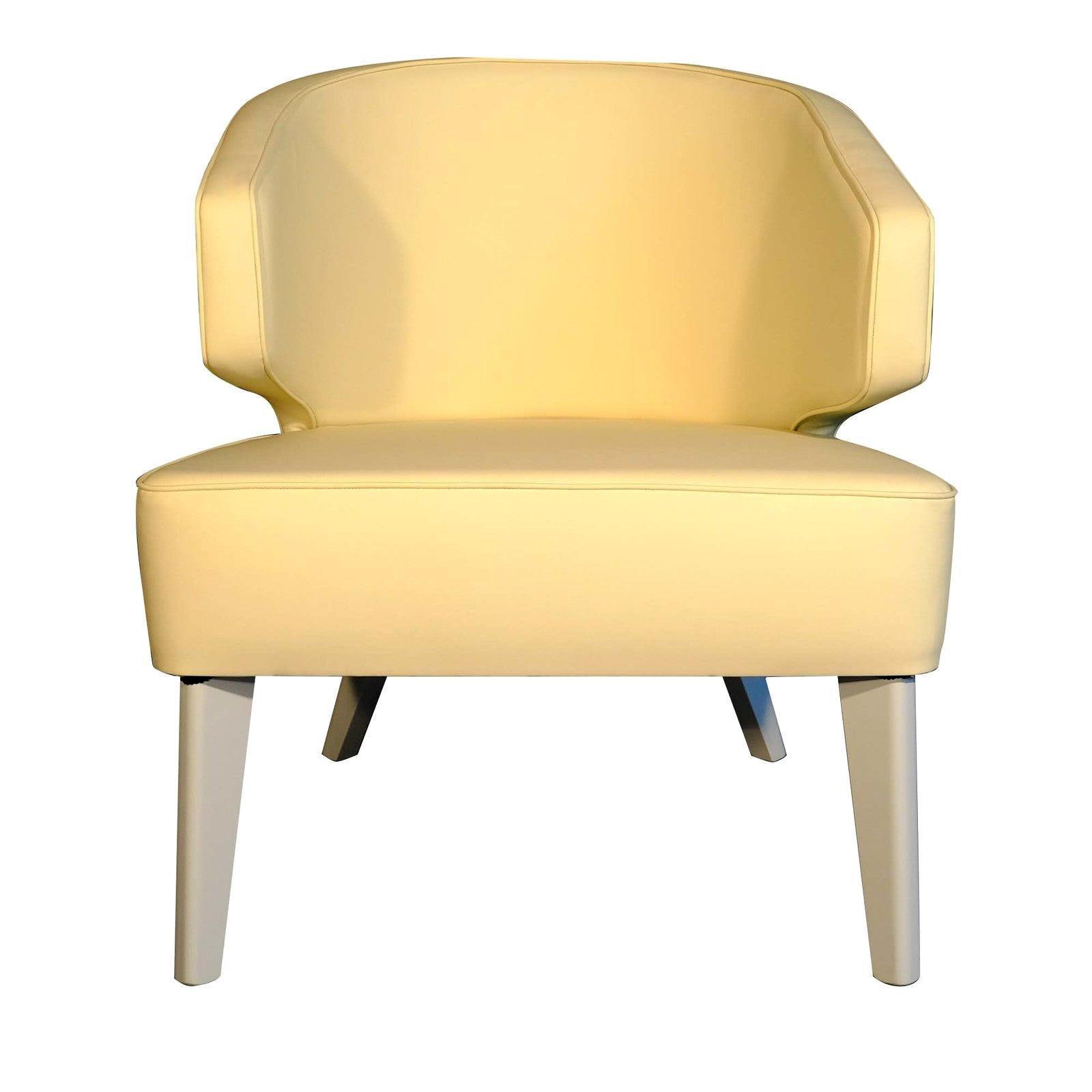Hugy Yellow Armchair