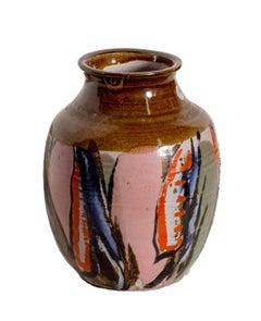 Glazed Vase, Unique Ceramic by Hiu Ka Kwong
