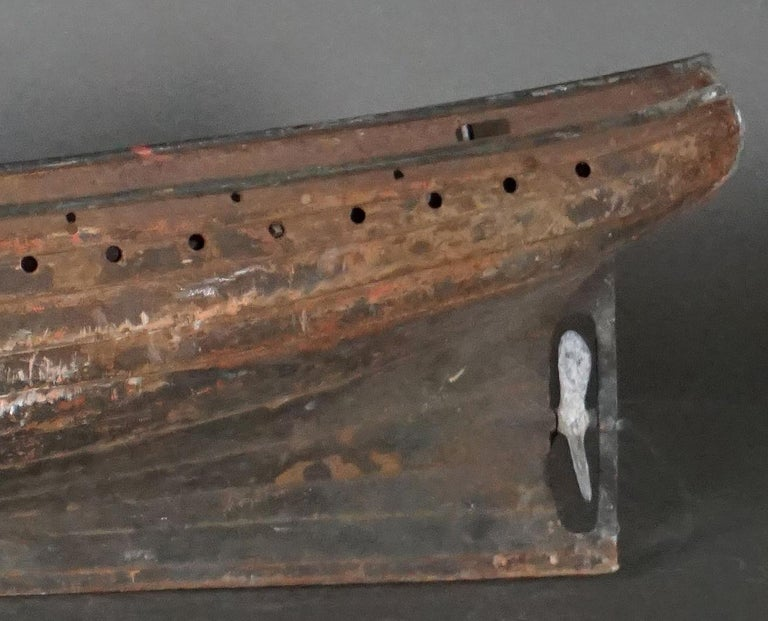 19th Century Hull of a Sailing Ship For Sale