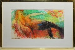 Vintage American Modernist Figurative Abstract Figure by Humbert Howard