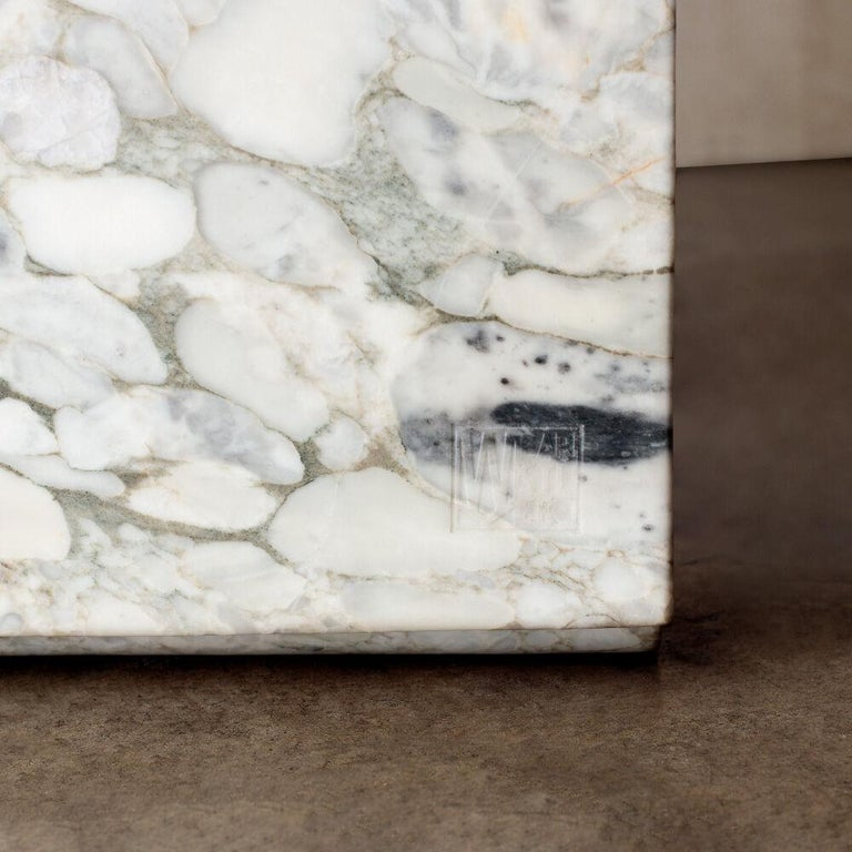Marble Hume Chair by Kelly Wearstler For Sale