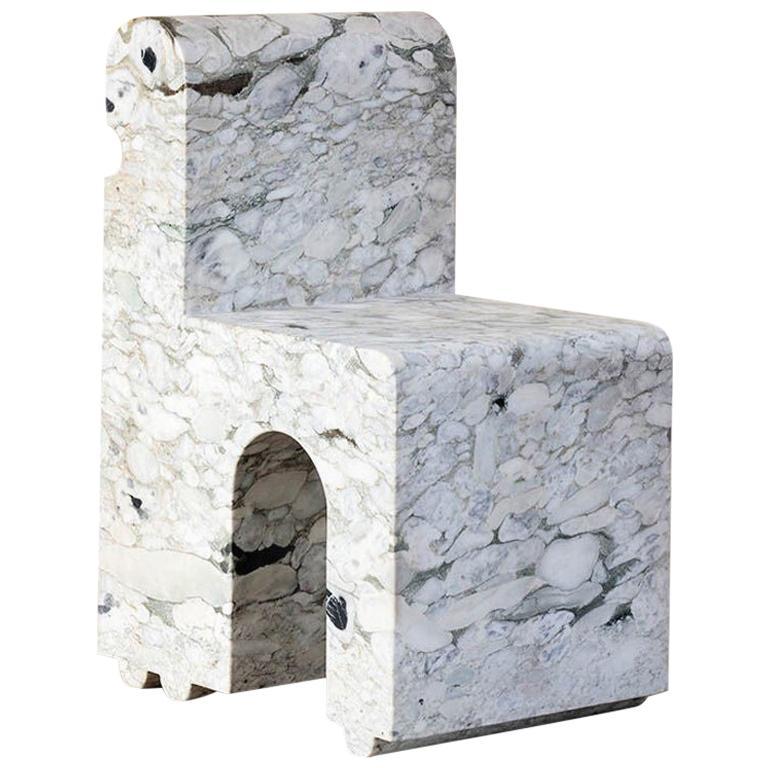 Kelly Wearstler Hume Marble Sculptural Chair
