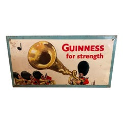 Humorous Guinness Advertising Sign by John Gilroy