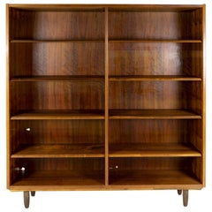 Hundevad Rosewood Bookcase, Made in Denmark 1960s, Marked