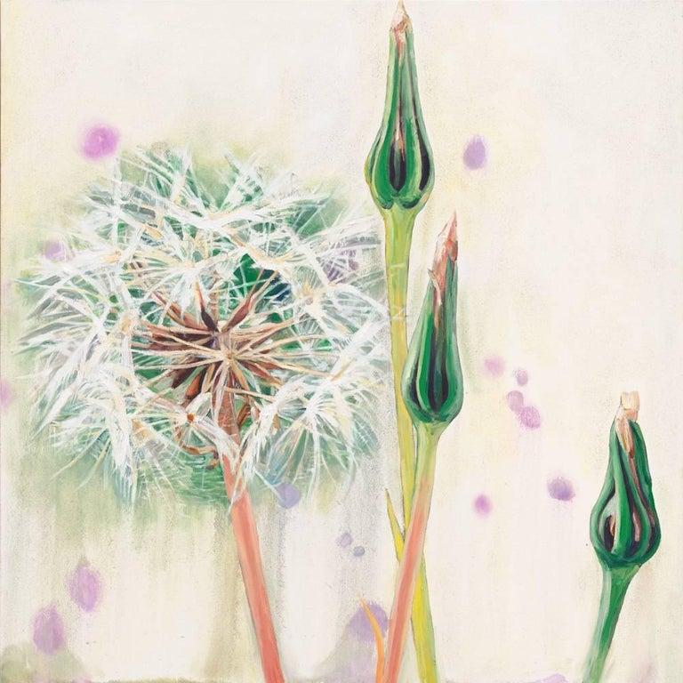 Hung Liu Figurative Painting - Dandelion 13B