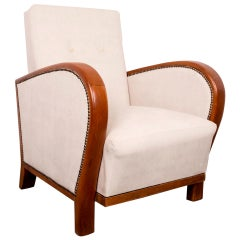 Hungarian Art Deco Armchair