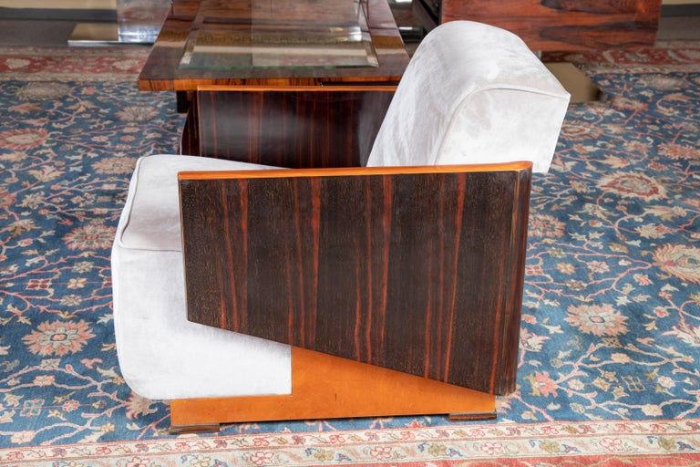 Hungarian Art Deco Armchairs For Sale 1