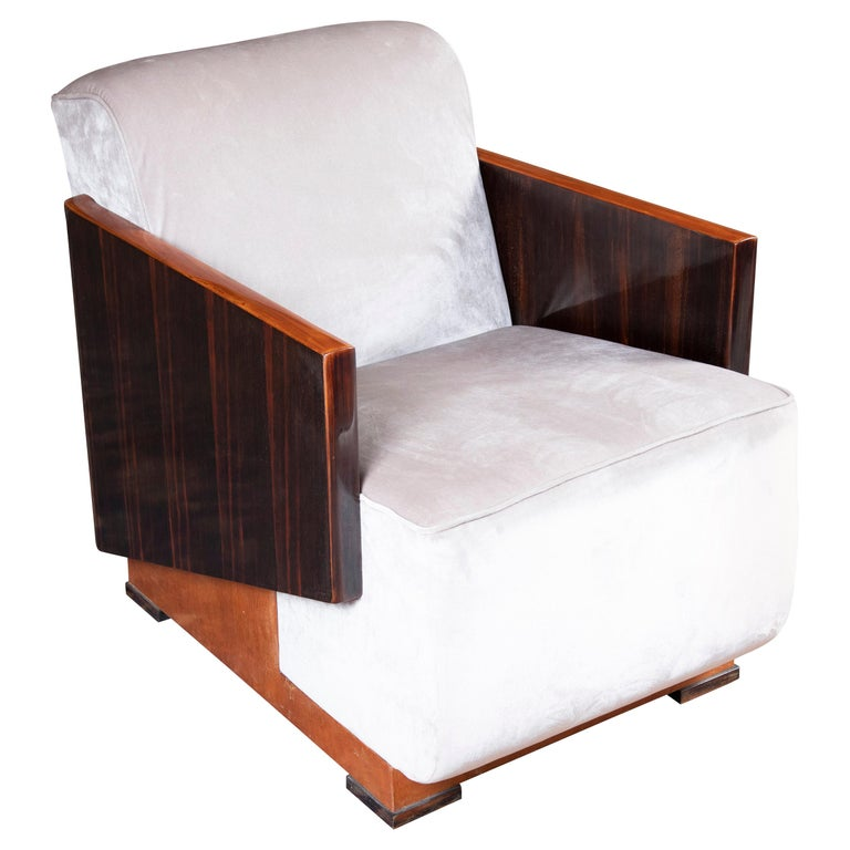 Hungarian Art Deco Armchairs For Sale