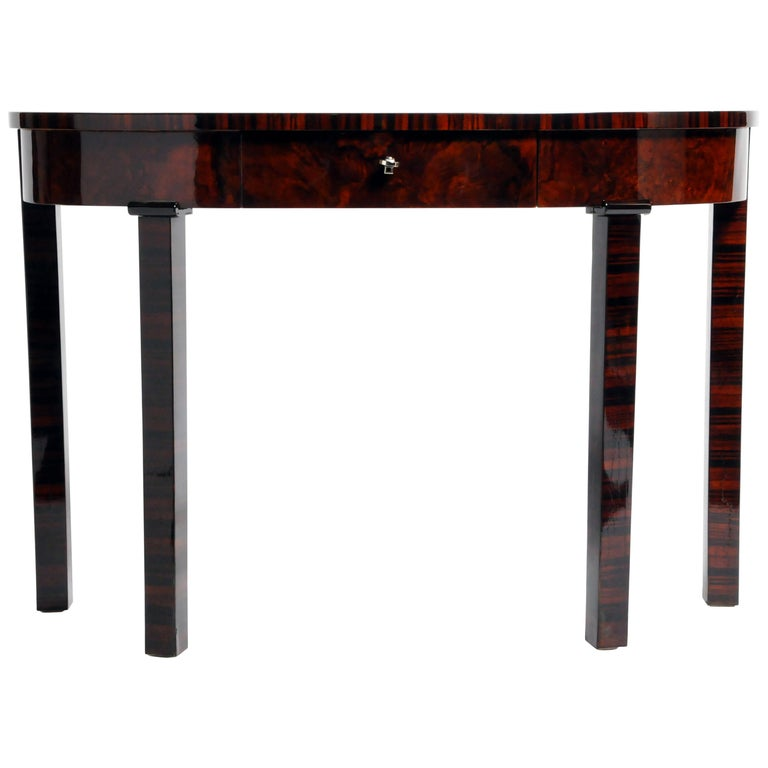 Hungarian Console Table with Drawer For Sale