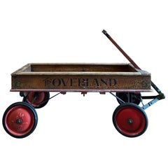"Hunt, Helm, Ferris & Company vintage ""The Overland"" wagon"