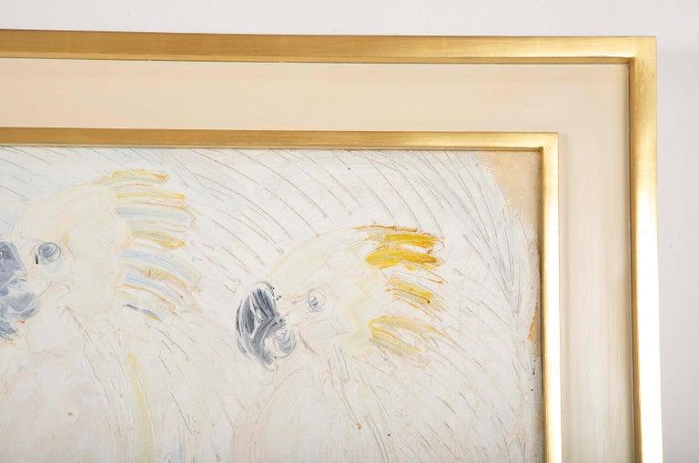 Hand-Painted Hunt Slonem,