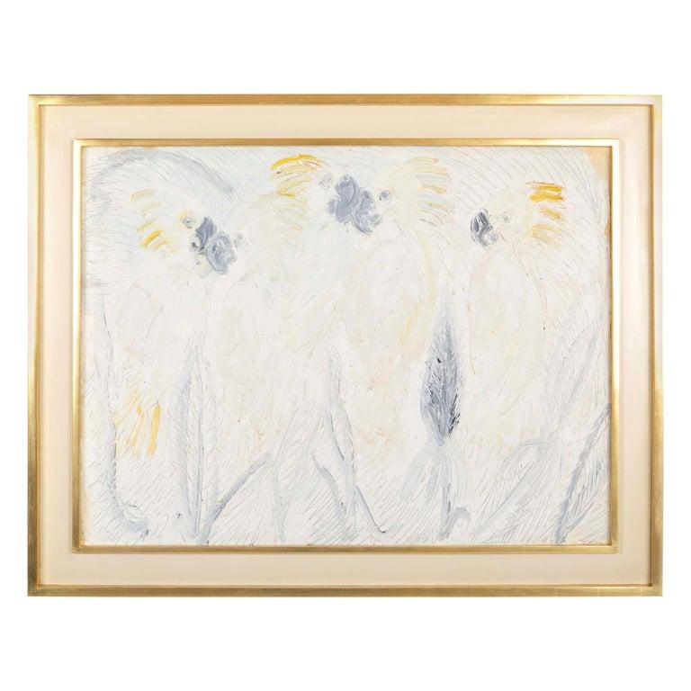 """Hunt Slonem, """"Cockatoos"""", 1997 For Sale"""