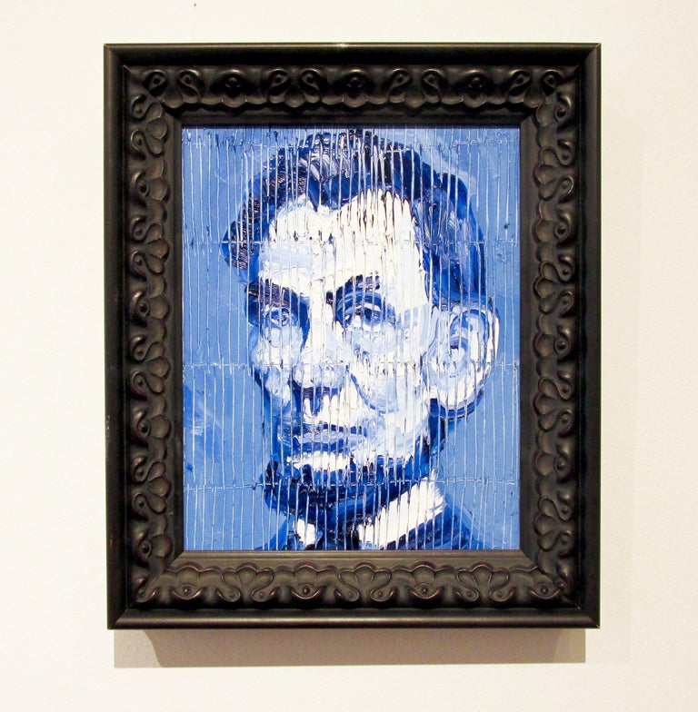 Abe Lincoln - Contemporary Painting by Hunt Slonem