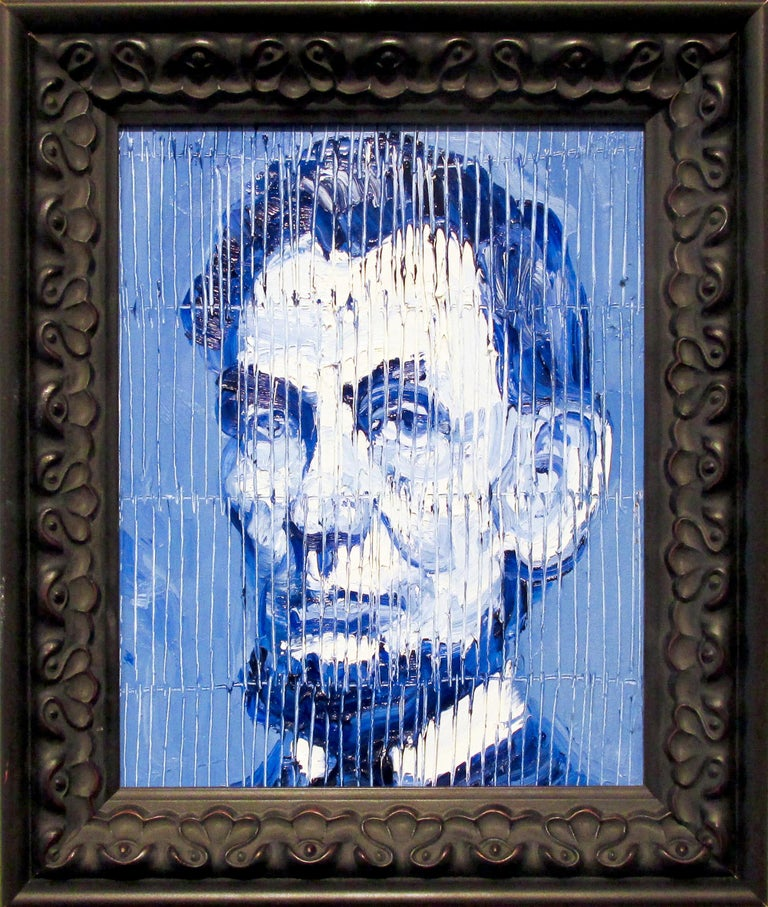 Abe Lincoln - Painting by Hunt Slonem